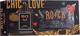 Parfémy, Parfumerie, kosmetika Chic&Love Rock - Sada (edt/100ml + bag)
