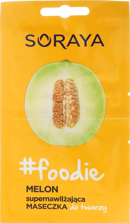 Pleťová maska s výtažkem z melounu - Soraya Foodie Melon Super-Hydrating Face Mask