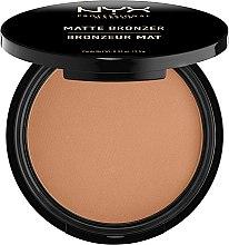 Parfémy, Parfumerie, kosmetika Bronzující pudr matný - NYX Professional Makeup Matte Bronzer