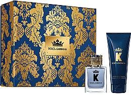 Parfémy, Parfumerie, kosmetika Dolce & Gabbana K by Dolce & Gabbana - Sada (edt/50ml + a/sh/balm/75ml)
