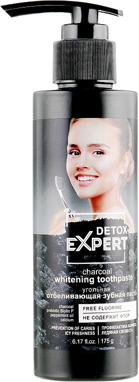 Uhelná zubní pasta - Detox Expert Charcoal Whitening Toothpaste