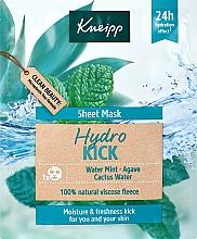 Parfémy, Parfumerie, kosmetika Hydratační látková maska na obličej - Kneipp Hydro Kick Sheet Mask