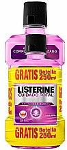 Parfémy, Parfumerie, kosmetika Sada - Listerine Total Care (mouthwash/500ml+mouthwash/250ml)