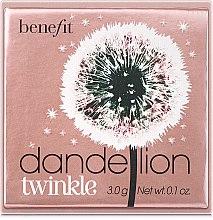 Parfémy, Parfumerie, kosmetika Třpytivý pudr rozjasňovač - Benefit Dandelion Twinkle