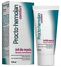 Parfémy, Parfumerie, kosmetika Čisticí gel na hemoroidy - Aflofarm Procto-Hemolan Comfort Cleaning Gel