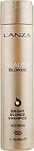Parfémy, Parfumerie, kosmetika Léčivý šampon pro přírodní a odbarvené světlé vlasy - L'anza Healing Blonde Bright Blonde Shampoo