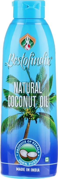 Kokodový olej přírodní na tělo a vlasy - Bestofindia Natural Coconut Oil