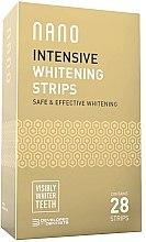 Parfémy, Parfumerie, kosmetika Bělicí zubní proužky - WhiteWash Nano Intensive Whitening Strips