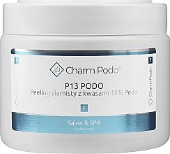 Parfémy, Parfumerie, kosmetika Granulovaný peeling s 18% kyselinami na chodidla - Charmine Rose Charm Podo P13
