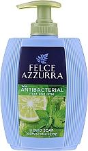 Parfémy, Parfumerie, kosmetika Tekuté mýdlo - Felce Azzurra Antibacterico Mint & Lime