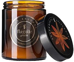 Parfémy, Parfumerie, kosmetika Aromatická svíčka ve skle Anýz a máta - Flagolie Fragranced Candle Anis & Mint