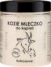 Parfémy, Parfumerie, kosmetika Kozí mléko do koupele Kokos - E-Fiore Coconut Bath Milk