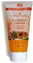 """Parfémy, Parfumerie, kosmetika Gel na obličej """"Aloe vera a papája"""" - Orientana Face Gel Cleanser"""