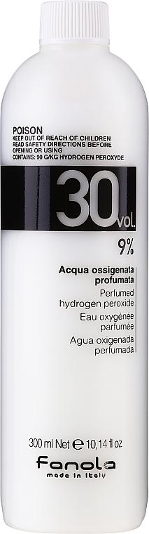 Oxidant - Fanola Acqua Ossigenata Perfumed Hydrogen Peroxide Hair Oxidant 30vol 9%