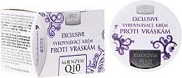 Parfémy, Parfumerie, kosmetika Krém na obličej proti vráskám - Bione Cosmetics Exclusive Organic Smoothing Anti-Wrinkle Cream With Q10