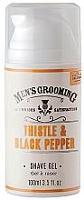 Parfémy, Parfumerie, kosmetika Gel na holení - Scottish Fine Soaps Men's Grooming Thistle & Black Pepper Shaving Gel