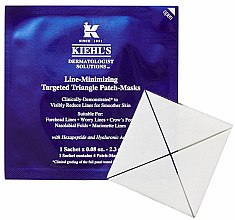 Parfémy, Parfumerie, kosmetika Maska na obličej - Kiehl's Line Minimizing Targeted Triangle Patch-Masks