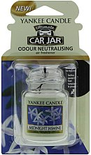 Parfémy, Parfumerie, kosmetika Vůně do auta - Yankee Candle Car Jar Ultimate Midnight Jasmine