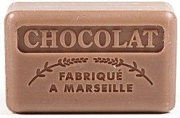 Parfémy, Parfumerie, kosmetika Marseille mýdlo Čokoláda - Foufour Savonnette Marseillaise Chocolat