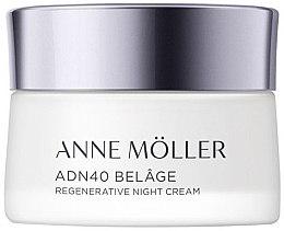 Parfémy, Parfumerie, kosmetika Noční krém na obličej - Anne Moller ADN40 Belage Regenerative Night Cream
