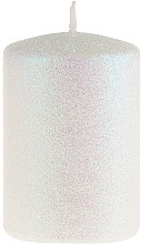 Parfémy, Parfumerie, kosmetika Dekorativní svíčka, perleťová, 7x10 cm - Artman Glamour