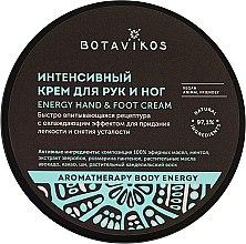 Parfémy, Parfumerie, kosmetika Intenzivní krém na ruce a nohy - Botavikos Energy Hand&Foot Cream