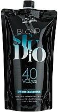 Parfémy, Parfumerie, kosmetika Výživný krémový vyvíječ pro odbarvené vlasy 12% - L'Oreal Professionnel Blond Studio Creamy Nutri-Developer Vol.40