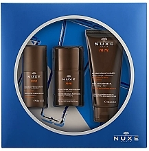 Parfémy, Parfumerie, kosmetika Sada - Nuxe Men (deo/50ml + f/gel/50ml + sh/gel/100ml)