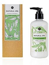 Parfémy, Parfumerie, kosmetika Lotion na ruce - Accentra Natural Spa Eucalyptus & Lemon Grass Hand Lotion