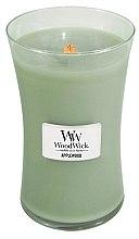 Parfémy, Parfumerie, kosmetika Vonná svíčka ve sklenici - WoodWick Applewood Large Jar Candle