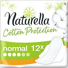 Parfémy, Parfumerie, kosmetika Hygienické vložky s křidélky, 12 ks - Naturella Cotton Protection Ultra Normal