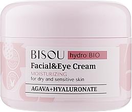 Parfémy, Parfumerie, kosmetika Krém na obličej a oční kontury Hydratační - Bisou Hydro Bio Facial Eye Cream