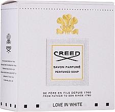 Parfémy, Parfumerie, kosmetika Creed Love In White Perfumed Soap - Parfémované mýdlo