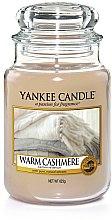 Parfémy, Parfumerie, kosmetika Aromatická svíčka Teplý kašmír - Yankee Candle Warm Cashmere