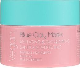 Parfémy, Parfumerie, kosmetika Maska s modrou hlínou - Nacomi Blue Clay Mask Anti-Aging