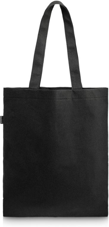 "Nákupní taška, černá ""Perfect Style"" - MakeUp Eco Friendly Tote Bag Black"