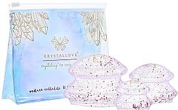 Parfémy, Parfumerie, kosmetika Silikonová masážní pomůcka na tělo - Crystallove Crystal Body Cupping Set