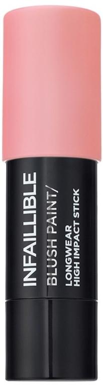 Tvářenka v tužce na obličej - L'Oreal Paris Infaillible Blush Paint — foto N1