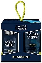 Parfémy, Parfumerie, kosmetika Sada - Baylis & Harding Men's Citrus Lime & Mint 4 Piece Box(hair/body/wash/100ml+sh/gel/50ml+face/wash/100ml+a/sh/balm/50ml)