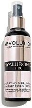 Parfémy, Parfumerie, kosmetika Fixační sprej na make-up - Makeup Revolution Hyaluronic Fix Spray