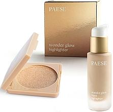 Parfémy, Parfumerie, kosmetika Sada - Paese Wonder Glow Highlighter (highlighter/7,5g+highlighter/20ml)