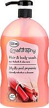 Parfémy, Parfumerie, kosmetika Šampon-sprchový gel Reveň a aloe vera - Bluxcosmetics Naturaphy