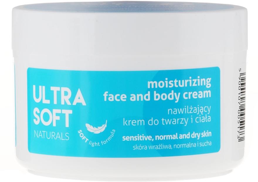 Hydratační krém na obličej a tělo - Ultra Soft Naturals Moisturising Face and Body Cream — foto N1