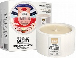 Parfémy, Parfumerie, kosmetika Vonná svíčka - House of Glam Watermelon Extravaganza Candle