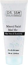 Parfémy, Parfumerie, kosmetika Minerální bahenní maska s aloe vera a dunaliella - Dr. Sea Mineral Mud Mask
