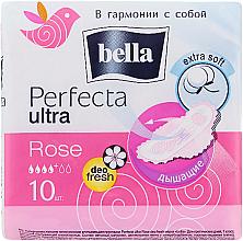 Parfémy, Parfumerie, kosmetika Vložky perfecta Rose Deo Fresh Drai Ultra, 10ks - Bella