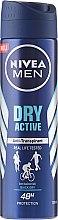 Parfémy, Parfumerie, kosmetika Pánský antiperspirant NIVEA MEN Dry Active - Nivea Men Dry Active Deodorant