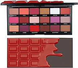 Parfémy, Parfumerie, kosmetika Paleta očních stínů - I Heart Revolution Eyeshadow Chocolate Blood Palette