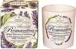 """Parfémy, Parfumerie, kosmetika Vonná svíčka """"Toskánská levandule a verbena"""" - Nesti Dante RomanticaTuscan Lavender & Verbena"""