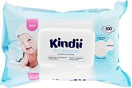 Parfémy, Parfumerie, kosmetika Vlhké ubrousky pro děti - Cleanic Kindii Skin Balance